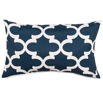 Cashwell Indoor/Outdoor Lumbar Pillow Fabric: Navy