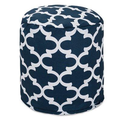 Cashwell Pouf Ottoman Fabric: Navy