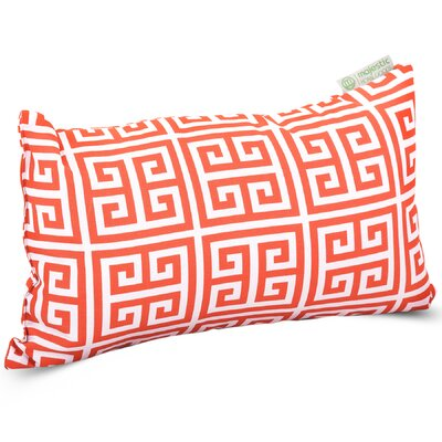 Towers Indoor/Outdoor Lumbar Pillow Fabric: Orange
