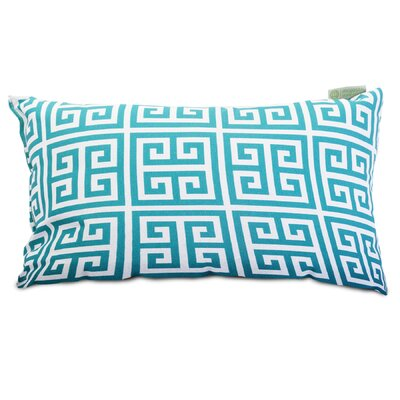 Towers Indoor/Outdoor Lumbar Pillow Fabric: Pacific