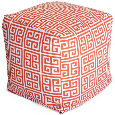 Image of Towers Small Cube Fabric: Orange