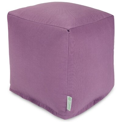 Wilda Small Cube Ottoman Fabric: Lilac