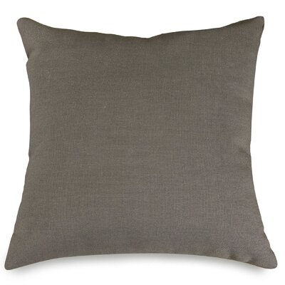 Wales Throw Pillow Color: Gray, Size: Extra Large