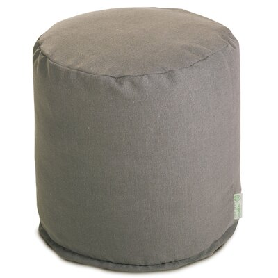 Christy Pouf Upholstery: Gray