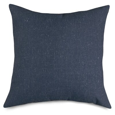 Wales Throw Pillow Size: Large, Color: Navy