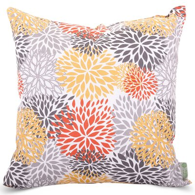 Blooms Indoor/Outdoor Throw Pillow Size: 24 H x 24 W