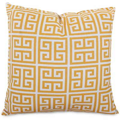 Towers Indoor/Outdoor Throw Pillow Fabric: Citrus, Size: Large