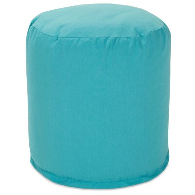 Small Pouf Fabric: Teal