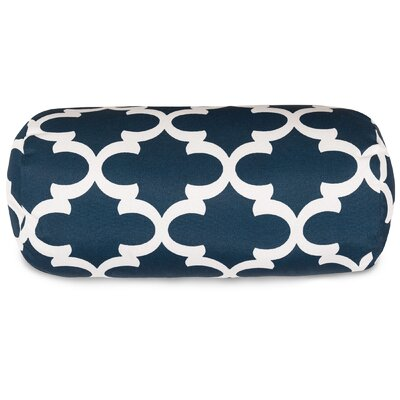 Cashwell Bolster Pillow Color: Navy