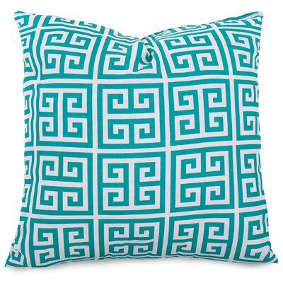 Towers Indoor/Outdoor Throw Pillow Fabric: Pacific, Size: Large