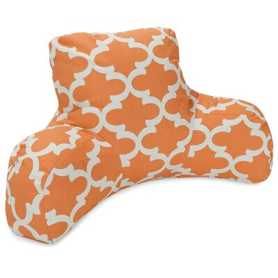 Cashwell Indoor/Outdoor Bed Rest Pillow Color: Peach