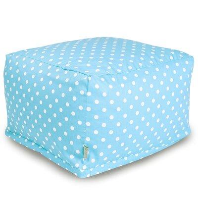 Pouf Upholstery: Aquamarine