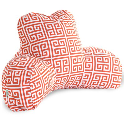 Towers Indoor/Outdoor Bed Rest Pillow Color: Orange