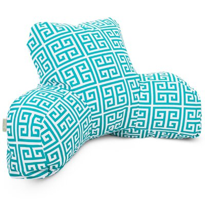 Towers Indoor/Outdoor Bed Rest Pillow Color: Pacific