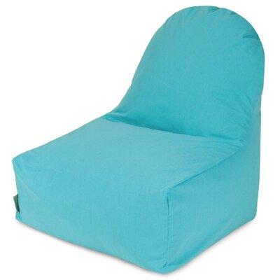 Bean Bag Lounger Upholstery: Teal