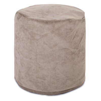 Villa Small Pouf Upholstery: Pearl