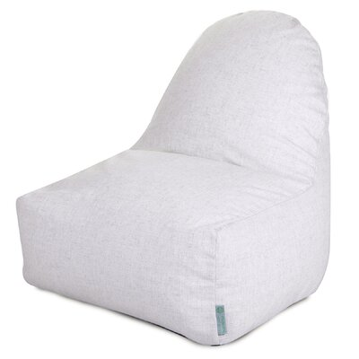 Cotton Bean Bag Lounger Upholstery: Magnolia