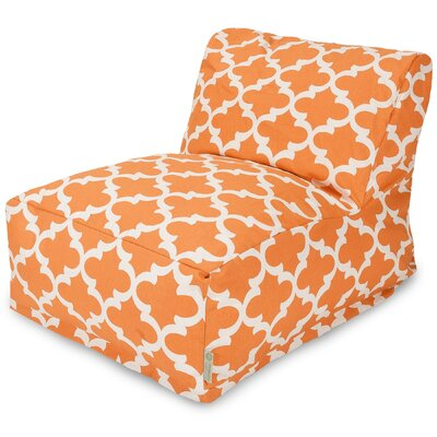 Cashwell Geometric Cotton Bean Bag Lounger