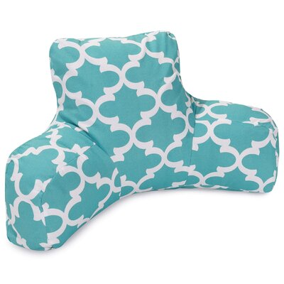 Cashwell Indoor/Outdoor Bed Rest Pillow Color: Teal