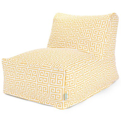 Towers Bean Bag Lounger Upholstery: Citrus