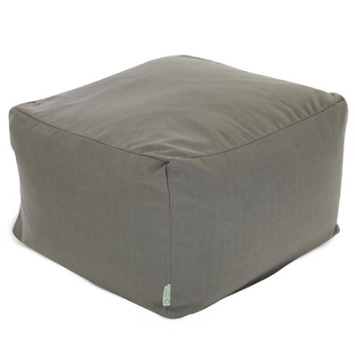 Christy Large Ottoman Upholstery: Gray