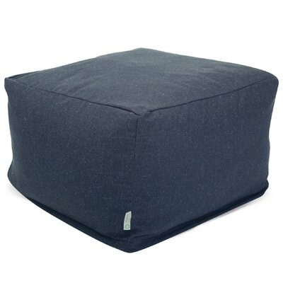 Christy Pouf Upholstery: Navy