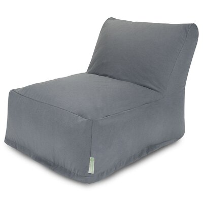 Bean Bag Lounger Upholstery: Gray