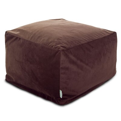Villa pouf Upholstery: Dark Brown