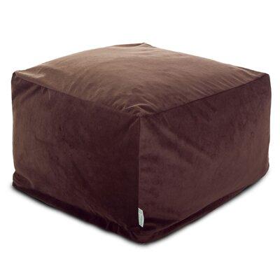 Villa Large Ottoman Upholstery: Dark Brown