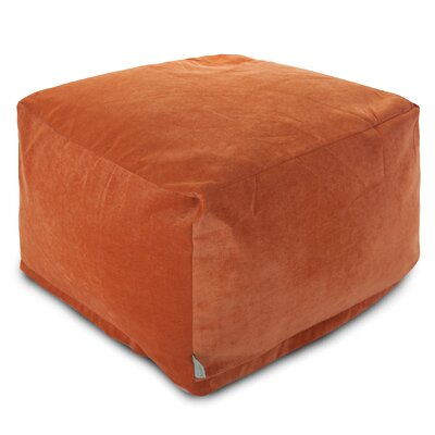 Villa Large Ottoman Upholstery: Orange