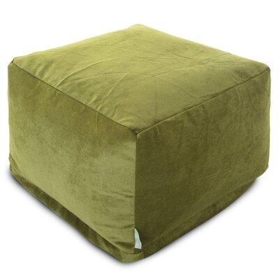 Villa Large Ottoman Upholstery: Apple - Green