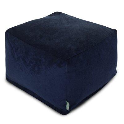 Villa pouf Upholstery: Navy