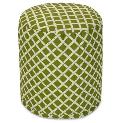 Ayer Small Pouf Fabric: Sage