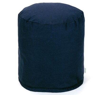 Small Pouf Fabric: Navy Blue
