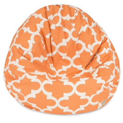 Cashwell Bean Bag Chair Upholstery: Peach