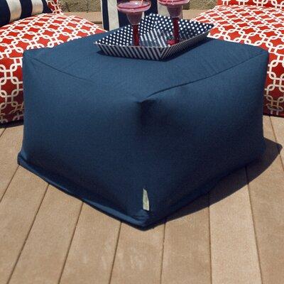 Large Ottoman Fabric: Navy Blue