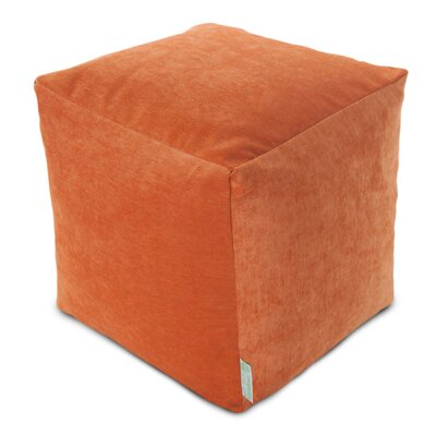Sosebee Pouf Upholstery: Orange