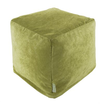 Sosebee Pouf Upholstery: Apple - Green