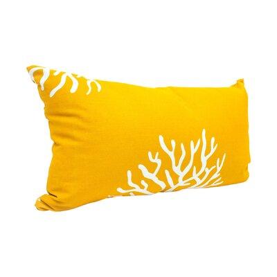 Dryden Lumbar Pillow Color: Yellow