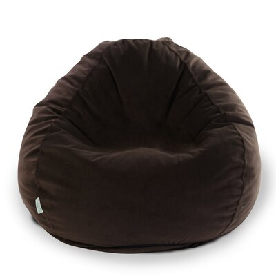 Bean Bag Chair Upholstery: Dark Brown