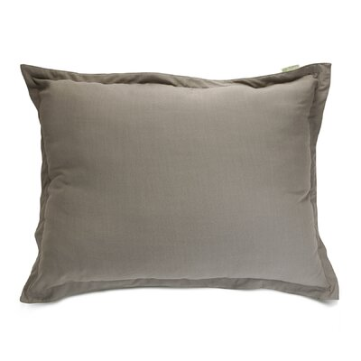 Christy Floor Pillow Color: Gray