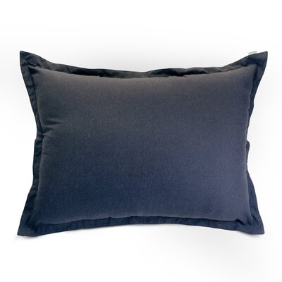 Christy Floor Pillow Color: Navy