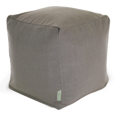 Christy Small Cube Upholstery: Gray