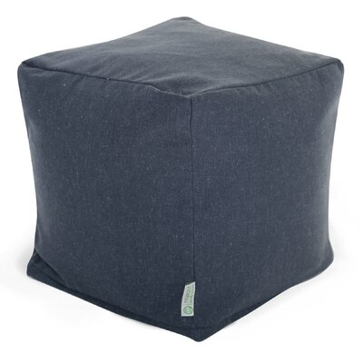 Christy Small Cube Upholstery: Navy