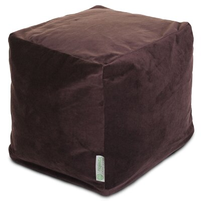 Sosebee Pouf Upholstery: Dark Brown