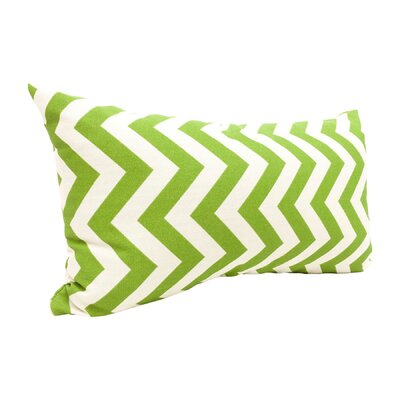 Zig Zag Lumbar Pillow Color: Sage