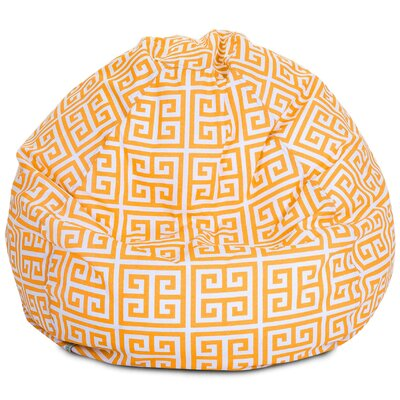 Towers Bean Bag Chair Upholstery: Citrus