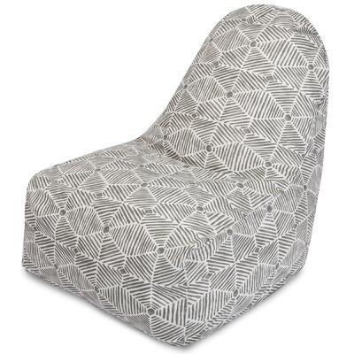Charlie Bean Bag Chair Color: Gray