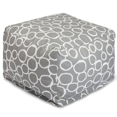 Fusion Pouf Color: Gray