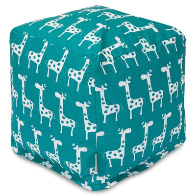 Stretch Pouf Color: Turquoise